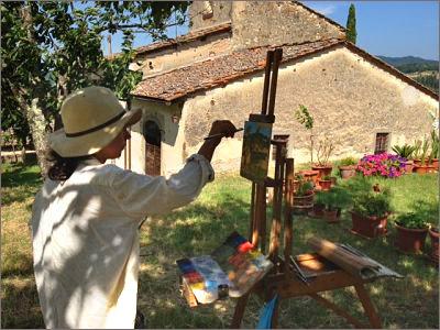 Wyjazdy tematyczne Toskania: Plenery artystyczno-turystyczne, warsztaty kulinarne, wizyty w winnicach